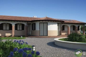 Modello Casa in Legno URB 25 di Urban Green