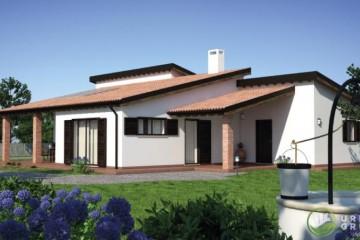 Modello Casa in Legno URB 26 di Urban Green