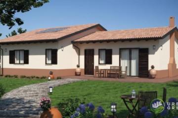 Modello Casa in Legno URB 27 di Urban Green