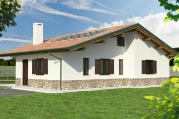 Modello Casa in Legno Casa Prefabbricata di Urban Green