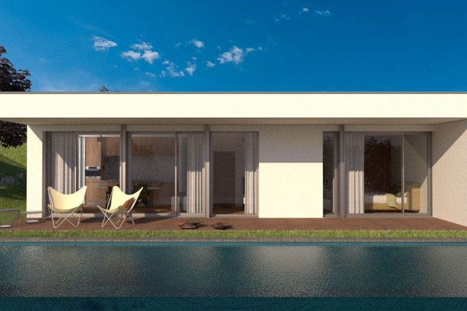 Casa in Legno in stile Moderno: Hera | Struttura PluSystem