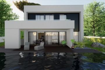 Modello Casa in Legno Fedra | Struttura PluSystem di Plushaus Srl