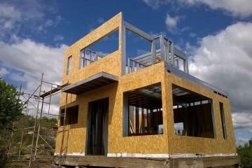 Realizzazione Casa in Legno Cantiere casa in legno e acciaio di LARPAF srls