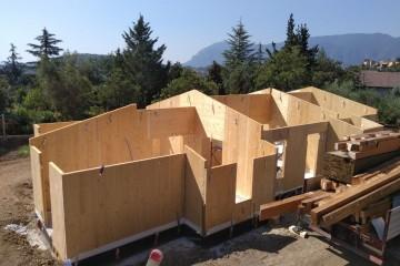 Realizzazione Casa in Legno Villa in Legno di Nuove Architetture Case in legno srl