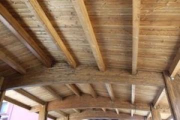 Modello Casa in Legno Tetto di Nuove Architetture Case in legno srl