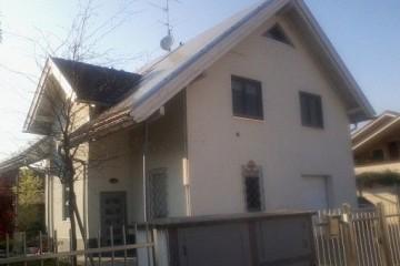 Realizzazione Casa in Legno Villa Monza struttura a TIMBER FRAME certificato FSC - PEFC di BCL Bergamasca Costruzioni Legno