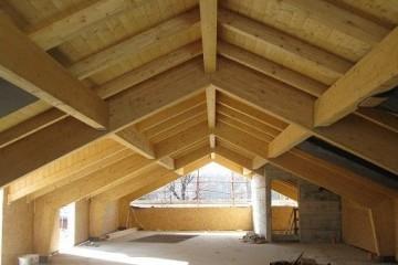 Realizzazione Ampliamento in Legno Sopralzo Edificio Residenziale di BCL Bergamasca Costruzioni Legno