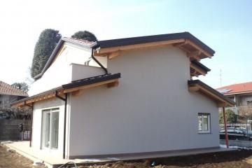 Casa in Legno Villa Cremona tecnologia XLam certificato PEFC - FSC