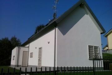 Realizzazione Casa in Legno Casa in legno moderna di BCL Bergamasca Costruzioni Legno