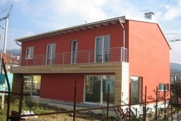 Casa in Legno Casa Timber Frame legno lamellare certificato FSC - PEFC in provincia di Milano