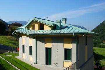 Realizzazione Casa in Legno Struttura legno lamellare cert. Pefc - Fsc - provincia di Bergamo di BCL Bergamasca Costruzioni Legno
