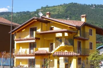 Casa in Legno Sopraelevazione legno lamellare certificato PEFC FSC - Lago Endine BG