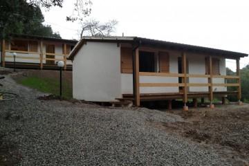 Baita o Chalet in Legno Casa Vacanza struttura a telaio legno lamellare certificato PEFC FSC