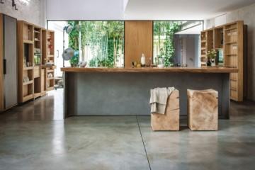 Modello Casa in Legno Cucina in legno trattato NATURALE certificato PEFC - FSC  - no FORMALDEIDE di BCL Bergamasca Costruzioni Legno