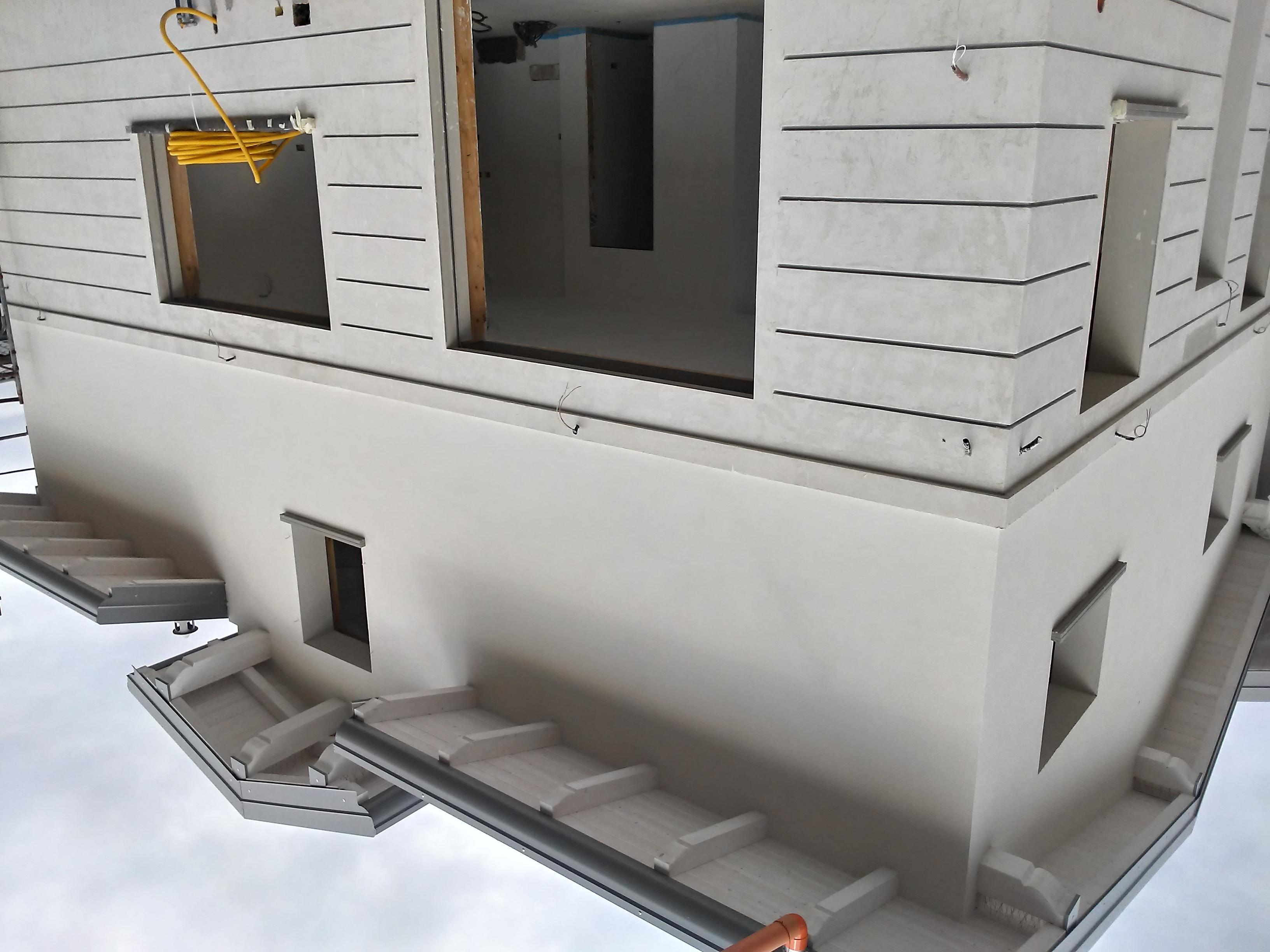 Planimetria della costruzione Casa in Legno modello Legno Lamellare cert. PEFC FSC zona Milano di BCL Bergamasca Costruzioni Legno