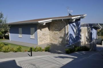 Realizzazione Casa in Legno AL Torrevecchia di Architettura Lamellare srl