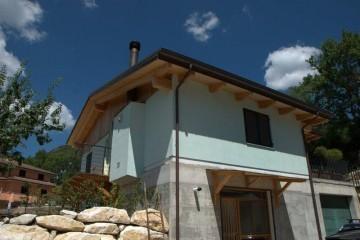 Realizzazione Casa in Legno Al Scoppito di Architettura Lamellare srl