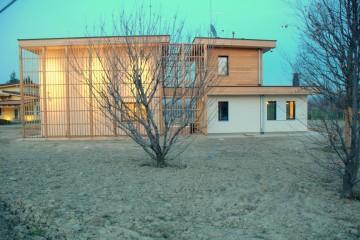 Realizzazione Casa in Legno AL Manaro di Architettura Lamellare srl
