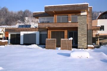 Realizzazione Casa in Legno Al  Biella di Architettura Lamellare srl