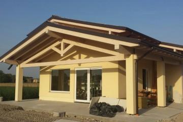 Realizzazione Casa in Legno AL Soragna di Architettura Lamellare srl