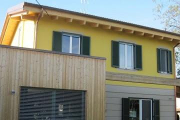 Realizzazione Casa in Legno AL Lodi di Architettura Lamellare srl