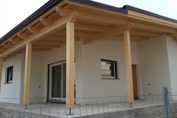 Modello Casa in Legno AL  Serdiana di Architettura Lamellare srl