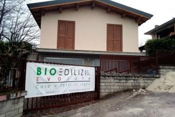 Realizzazione Casa in Legno SOPRAELEVAZIONE AD AMATRICE di BIOEDILIZIA EVOLUTA
