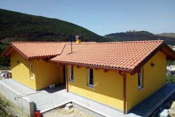 Realizzazione Casa in Legno VILLA PRIVATA SULLE COLLINE DELLA SABINA di BIOEDILIZIA EVOLUTA