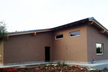Realizzazione Casa in Legno VILLA PRIVATA A FIANO ROMANO di BIOEDILIZIA EVOLUTA