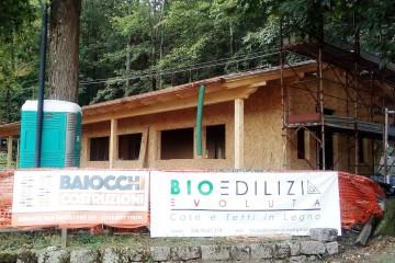 Realizzazione Casa in Legno EDIFICIO POLIFUNZIONALE IN LEGNO PER IL COMUNE DI PIANCASTAGNAIO di BIOEDILIZIA EVOLUTA