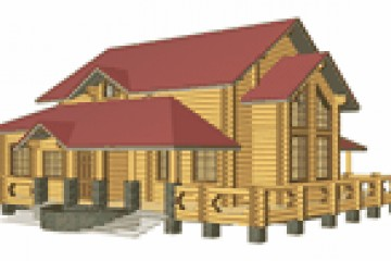 Chalet di Legno ECOCOTTAGE RESIDENZIALE EUROPA di HEALTHY LIFE HOUSES & WHEELS HOUSES