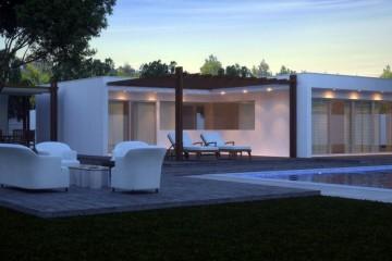 Modello Casa in Legno Modern A5 di Casabiocasamia srls