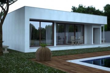 Modello Casa in Legno Modern A9 di Casabiocasamia srls