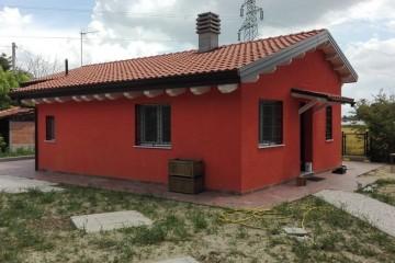 Realizzazione Casa in Legno Villa Unifamiliare in classe energetica