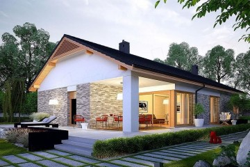 Modello Casa in Legno Angela di Euroedilegno srl