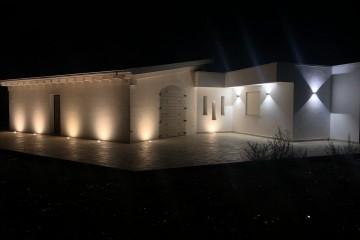 Realizzazione Casa in Legno Abitazione sita in Galatina di KOSTRUIRE - Sostenibilità e innovazioni abitative