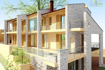Modello Casa in Legno Villa Verona di CASA Dom