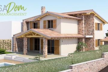 Modello Casa in Legno Villa Cesine di CASA Dom
