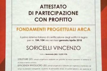 Modello Casa in Legno Certificazioni di CASA Dom