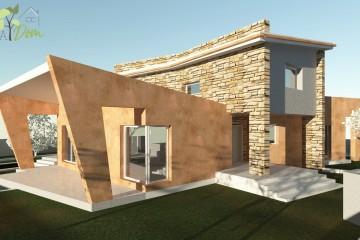 Modello Casa in Legno Villa Annalisa di CASA Dom