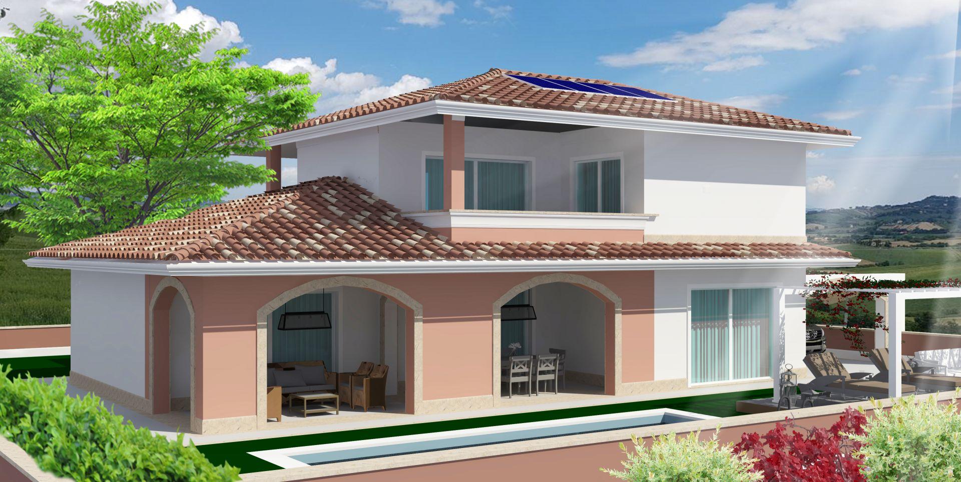 Casa legno 100 mq luminosa ed accogliente casa di ca mq - Progetto casa 100 mq ...