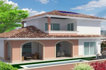Modello Casa in Legno Villa Victoria 150 mq di CASA Dom