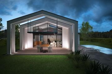 Modello Casa in Legno SEE THROUGH HOUSE – LAGO DI GARDA di Ville in Bioedilizia