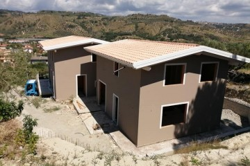 Modello Casa in Legno Martelletto di Angoli Legno