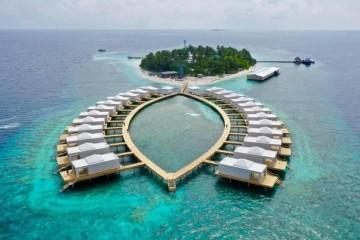 Realizzazione Struttura ricettiva (hotel, villaggio) in Legno Eco-Resort Bathala, Maldive di Marlegno | Innovazione sostenibile