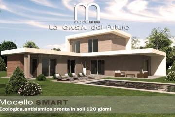 Modello Casa in Legno Concept 06 di modularee srl