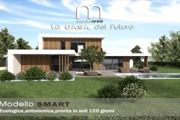 Modello Casa in Legno Concept 05 di modularee srl