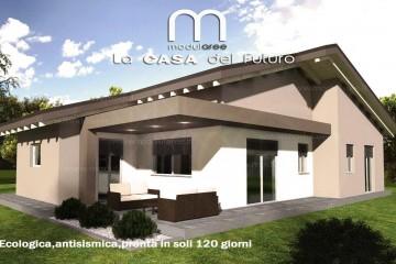 Modello Casa in Legno Concept 04 di modularee srl