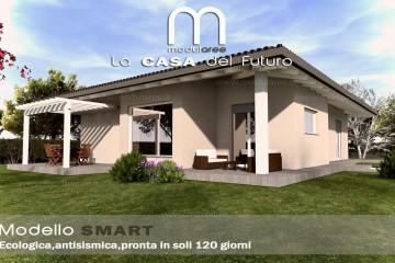 Modello Casa in Legno Concept 03 di modularee srl