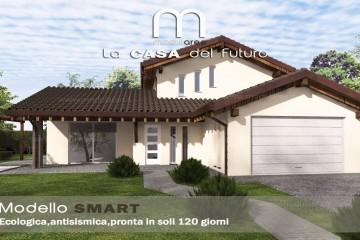 Modello Casa in Legno Concept 02 di modularee srl